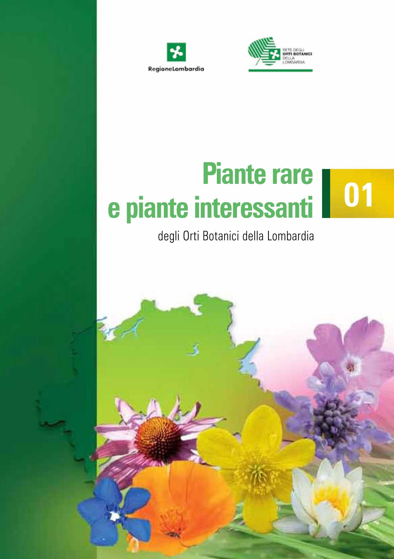 Piante rare e piante interessanti degli orti botanici for Piante rare